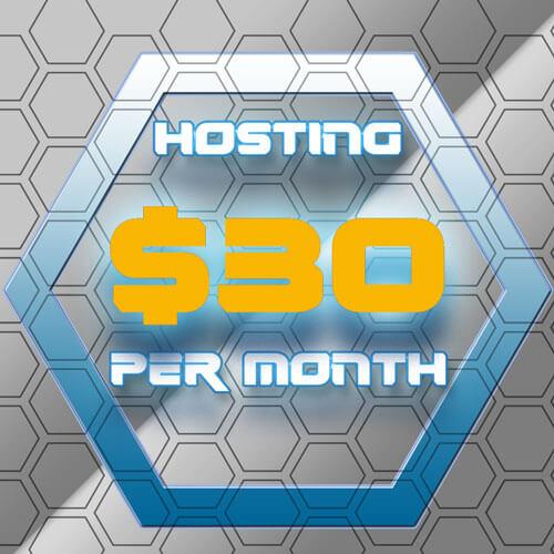 30 Dollar Per Month Hosting