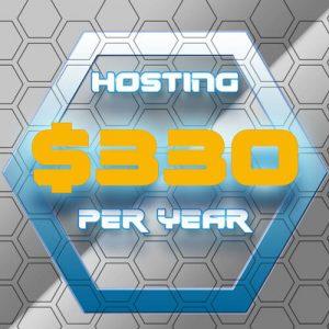 330 Dollar Per Year Hosting