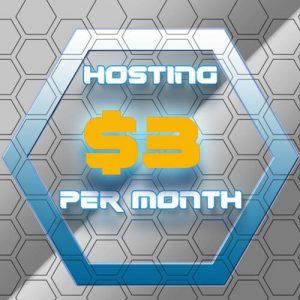 3 Dollar Per Month Hosting