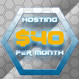 40 Dollar Per Month Hosting