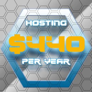 $440 Hosting Per Year